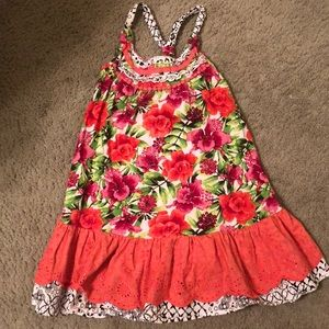 Size 5 floral sun dress perfect for summer